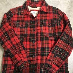 Plaid Flannel Jacket